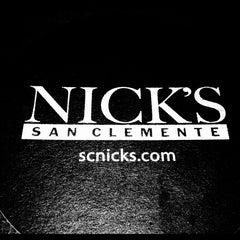 Photo taken at Nick's San Clemente by Matt B. on 1/13/2013