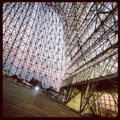 Photo taken at Hangar One (Building 1) by Libby F. on 9/7/2013