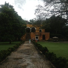 Photo taken at Hacienda Uayamon by Eliza H. on 7/12/2013