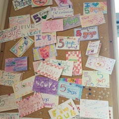 Photo taken at Five Guys by Maxi M. on 5/8/2014