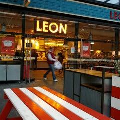 Photo taken at Leon by Stavroula K. on 10/30/2012