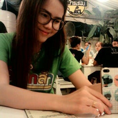 Photo taken at สถานีบ้านนม Ban-nom Station Café by nutty n. on 6/21/2015