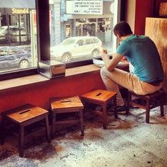 Photo taken at Num Pang Sandwich Shop by Brett R. on 6/1/2013