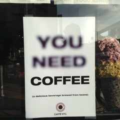 Photo taken at Caffe Etc. by Sali K. on 12/22/2013