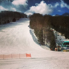 Photo taken at Holiday Valley Resort by Pat M. on 4/3/2013