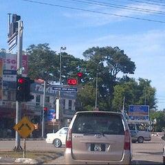 Photo taken at Simpang Empat Semabok by Austin M. on 2/27/2013
