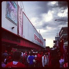 Photo taken at Estadio Nemesio Diez by Ulises on 12/2/2012