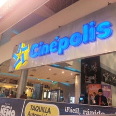 Photo taken at Cinépolis by Francisco R. on 10/11/2012