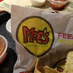 Photo taken at Moe's Southwest Grill by Jennifer S. on 12/20/2012