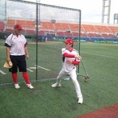 Photo taken at 무등야구장 (Mudeung Baseball Stadium) by WWW .. on 10/1/2013