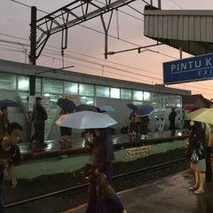 Photo taken at Stasiun Cilebut by Ibenk D. on 1/22/2015