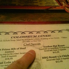 Photo taken at Colosseum Diner by MiSSJeaNiuS P. on 11/3/2013