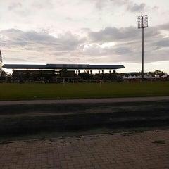 Photo taken at Stadium Sungai Besar by aina a. on 11/21/2015