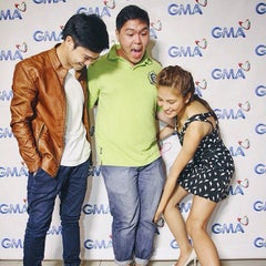 Photo taken at GMA Network Center by Jimpy A. on 7/28/2015