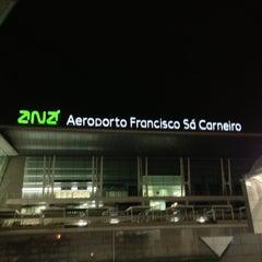 Photo taken at Aeroporto Francisco Sá Carneiro (OPO) by Marco M. on 12/19/2012