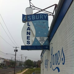 Photo taken at Asbury Lanes by Tony C. on 6/30/2013