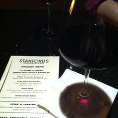 Photo taken at Stanford's Restaurant by Bella R. on 12/25/2012