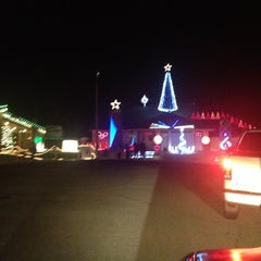 Photo taken at Chino's Famed Christmas Lane by Jason S. on 12/8/2012