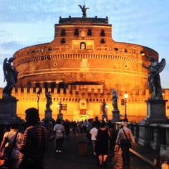 Photo taken at Castel Sant'Angelo by Michele S. on 7/20/2013