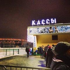 """Photo taken at Каток """"Южный полюс-Лужники"""" by Mikhail S. on 1/12/2013"""