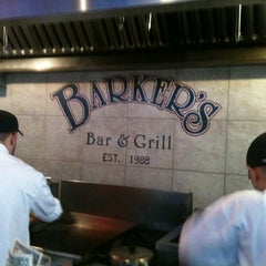 Photo taken at Barker's Bar & Grill by Melissa G. on 4/27/2012