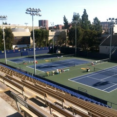 Photo taken at UCLA Los Angeles Tennis Center by Rob G. on 12/28/2012