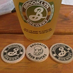 Photo taken at Brooklyn Brewery by Rebeca F. on 6/1/2013