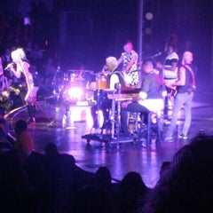 Photo taken at Gibson Amphitheatre by Renee R. on 12/1/2012