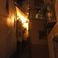 Photo taken at Callejón del Beso by Nallely H. on 4/19/2013