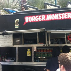 Photo taken at Burger Monster by blackfeathers b. on 3/29/2013