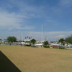 Photo taken at Marina Island Jetty Complex by Fadzli F. on 7/12/2013