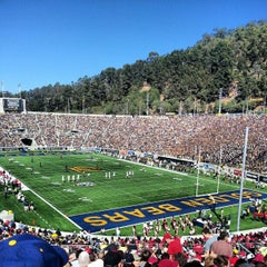 Photo taken at California Memorial Stadium by Filip M. on 10/20/2012