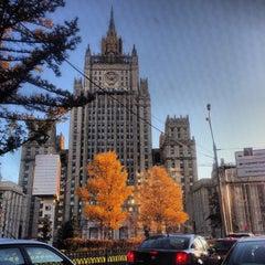 Photo taken at Смоленская-Сенная площадь by Irina G. on 10/30/2013