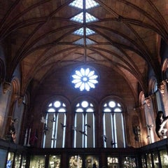 Photo taken at Smithsonian Institution Building (The Castle) by Kim on 12/9/2012