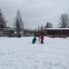 Photo taken at Umeå Stads Kyrka by Karen S. on 3/6/2016
