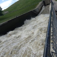 Photo taken at Saylorville Dam by Nate M. on 5/28/2013