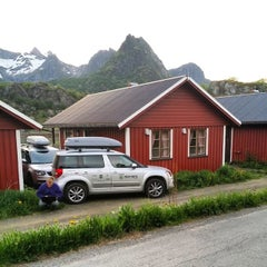 Photo taken at Ørsvågvær Camping by Ruslan U. on 6/5/2014