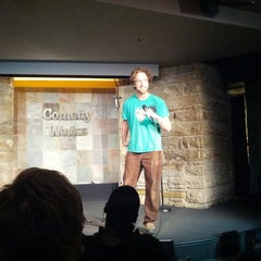 Photo taken at Comedy Works Downtown in Larimer Square by ian t. on 1/30/2013