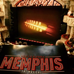 Photo taken at Memphis - the Musical by Nathan G. on 10/17/2015