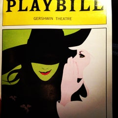 Photo taken at Gershwin Theatre by Peter S. on 10/24/2012