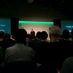 Photo taken at DroidconUK by Ade O. on 10/31/2014