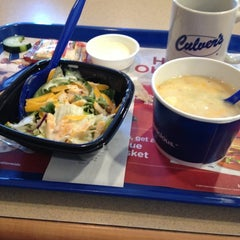 Photo taken at Culver's by Emma W. on 12/8/2012