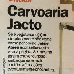 Photo taken at Carvoaria Jacto by Bruno C. on 1/18/2013