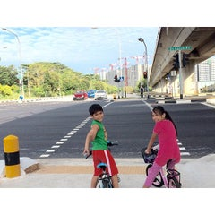 Photo taken at Bukit Batok Road by Paulo C. on 2/20/2015