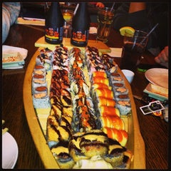 Photo taken at Sakura Japanese Restaurant by Stephen B. on 2/17/2013