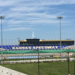 Photo taken at Kansas Speedway by Stephen B. on 7/14/2015