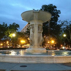 Photo taken at Dupont Circle by Stephen B. on 5/25/2013