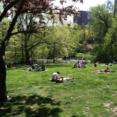 Photo taken at Central Park - The Pool by Scott C. on 5/4/2013