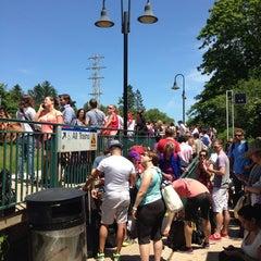 Photo taken at LIRR - Amagansett Station by Alli on 7/7/2013