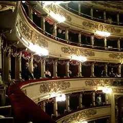 Photo taken at Teatro alla Scala by Dani A. on 11/18/2012